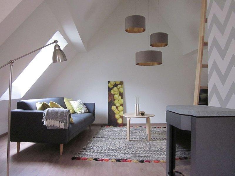 Ferienhaus Alte Schusterei, 85 qm mit Garten und 2 Wohn- / Schlafbereichen für m, location de vacances à Britzingen