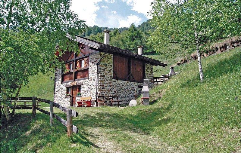 2 Zimmer Unterkunft in Peio Terme -TN-, holiday rental in Comasine