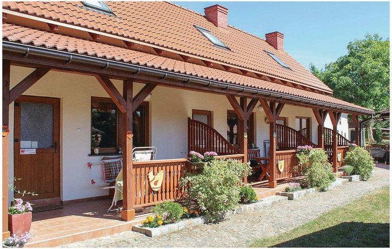 1 Zimmer Unterkunft in Kolczewo, casa vacanza a Miedzyzdroje