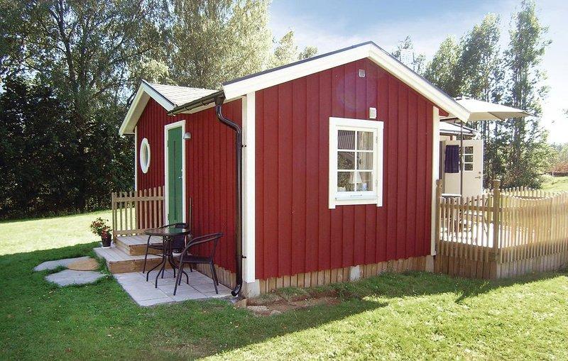 1 Zimmer Unterkunft in Sjötofta, casa vacanza a Overlida