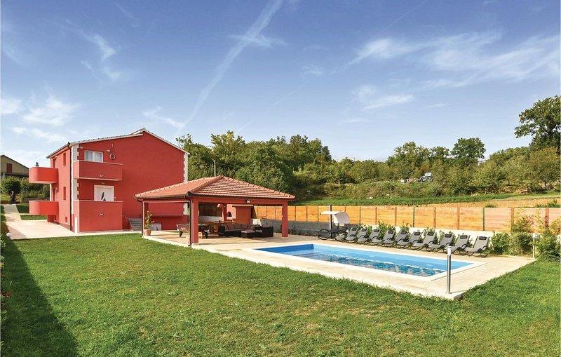 5 Zimmer Unterkunft in Rumin, casa vacanza a Hrvace