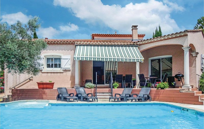 4 Zimmer Unterkunft in Lamalou les Bains, holiday rental in Camplong