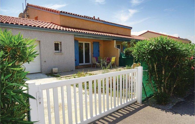 2 Zimmer Unterkunft in Torreilles - Plage, vacation rental in Saint-Laurent-de-la-Salanque