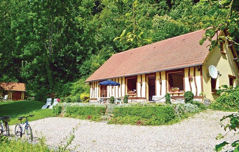2 Zimmer Unterkunft in Sâane Saint Just, holiday rental in Bretteville-Saint-Laurent