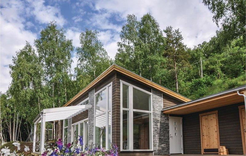 3 Zimmer Unterkunft in Ornes, casa vacanza a Skjolden