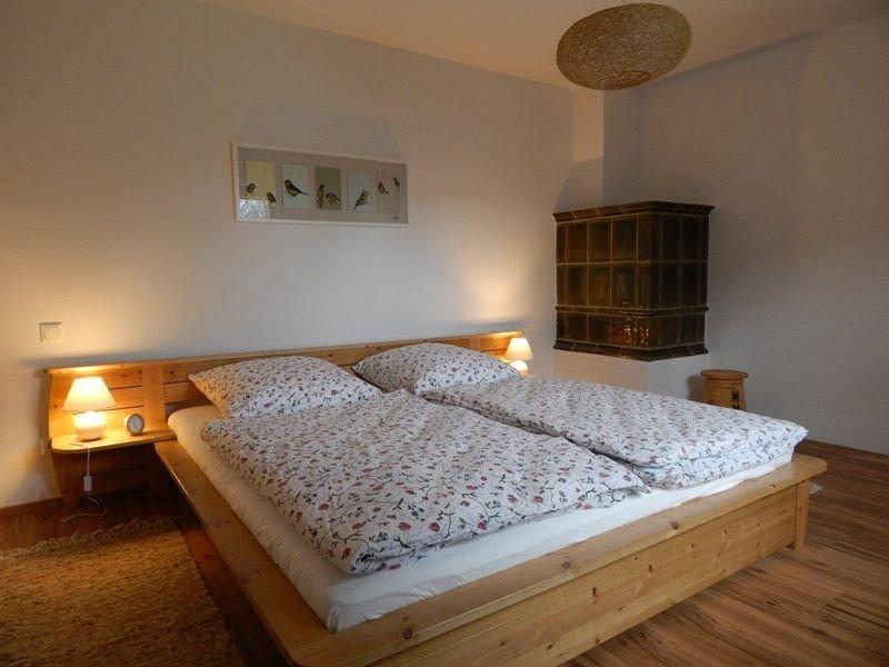 Ferienwohnung 57qm, Erdgeschoss, 2 Schlafzimmer, Wohn-Esszimmer, Terrasse, vakantiewoning in Fischbachau