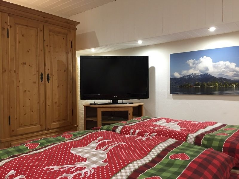 Ferienwohnung für 1-2 Personen (ca. 40 qm, Souterrain) – semesterbostad i Prien am Chiemsee