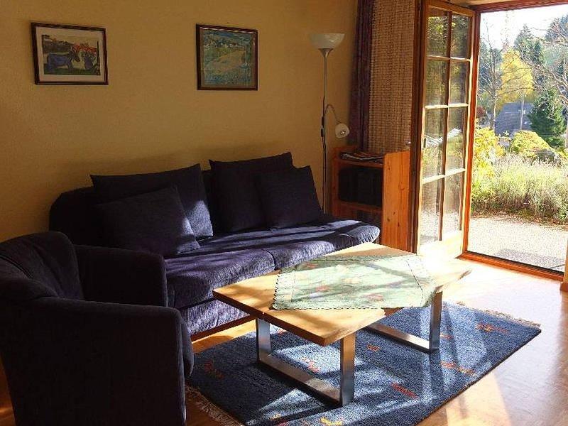 Ferienwohnung Gartengeschoss, 40qm, 1 Schlafzimmer, holiday rental in Menzenschwand-Hinterdorf