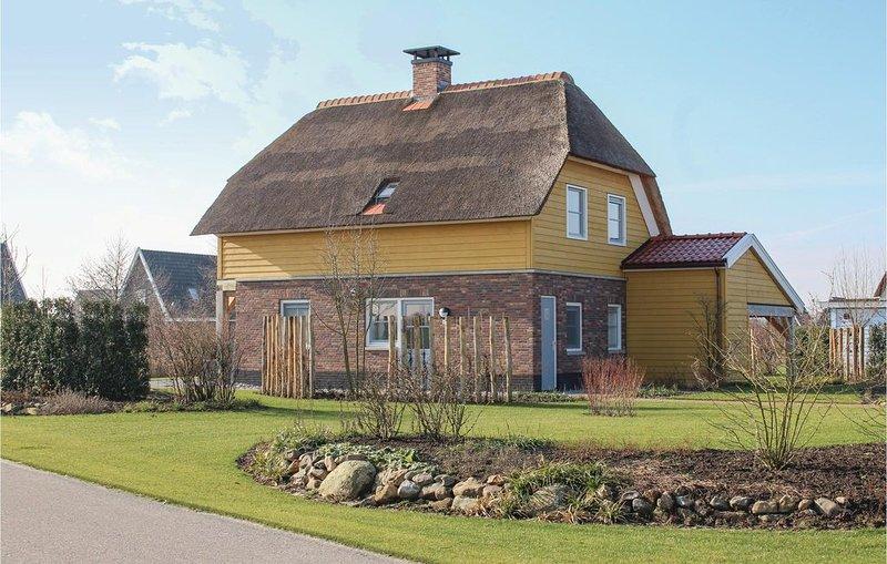 4 Zimmer Unterkunft in Giethoorn, alquiler vacacional en Hasselt