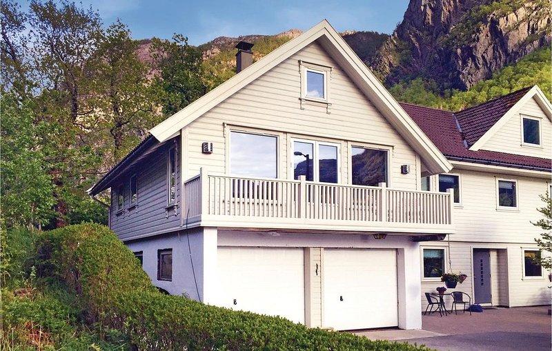 2 Zimmer Unterkunft in Dirdal, location de vacances à Jorpeland