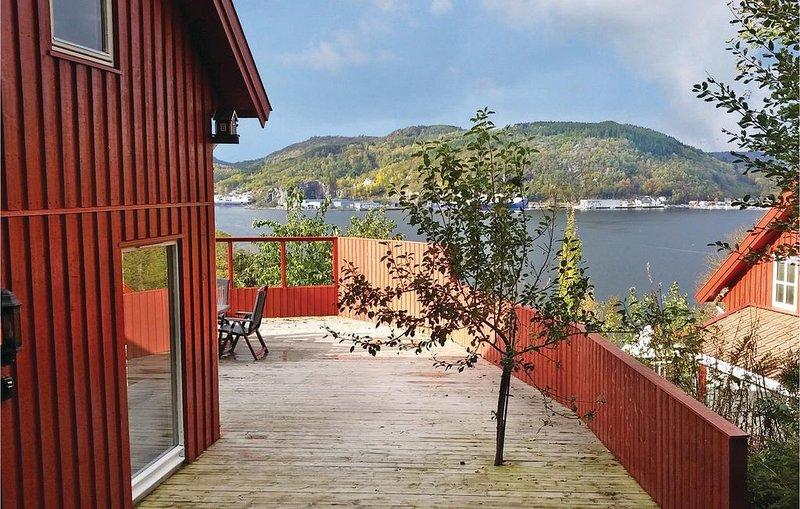 6 Zimmer Unterkunft in Lyngdal, location de vacances à Mandal Municipality