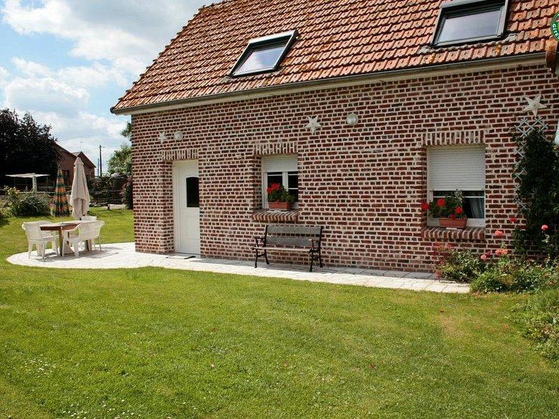 Fontaine les Croisilles : à proximité de Arras maison pour 7 personnes., location de vacances à Bullecourt