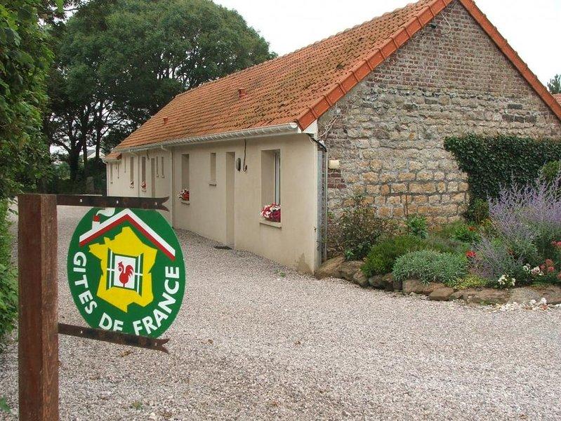 Peuplingues : à 2 km de la mer au sud de Calais maison pour 7 personnes., vacation rental in Bleriot-Plage