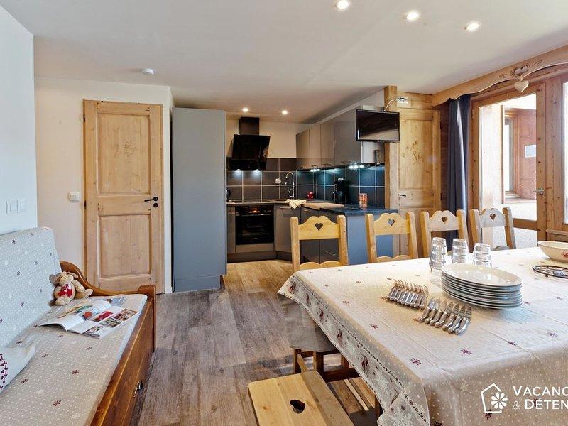 Spacieux SKIOPIEDS Balcon tout Confort - G11, holiday rental in Saint-Martin-de-Belleville