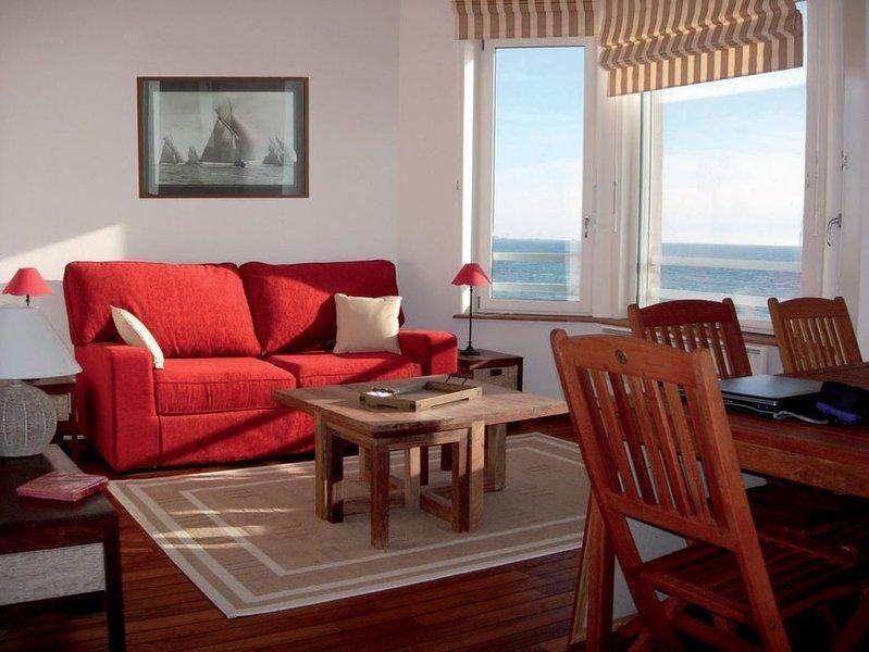 Ambleteuse, Côte d'Opale: appartement 4 à 6 personnes face mer., location de vacances à Audresselles