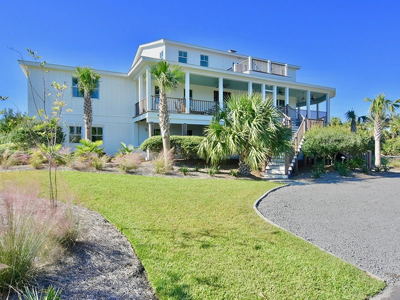 Celebrate the beauty of the beach in this luxurious second row home, vacation rental in Georgetown