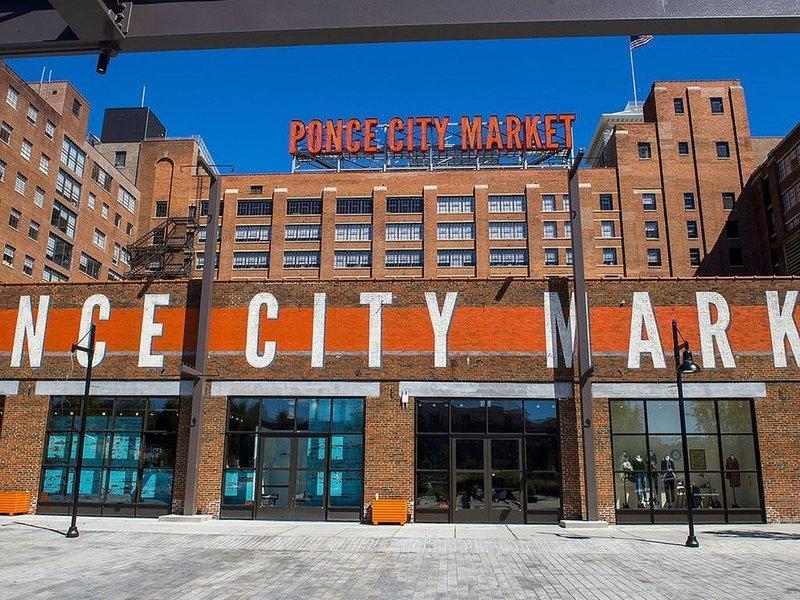 Ponce City Market zu Fuß erreichbar