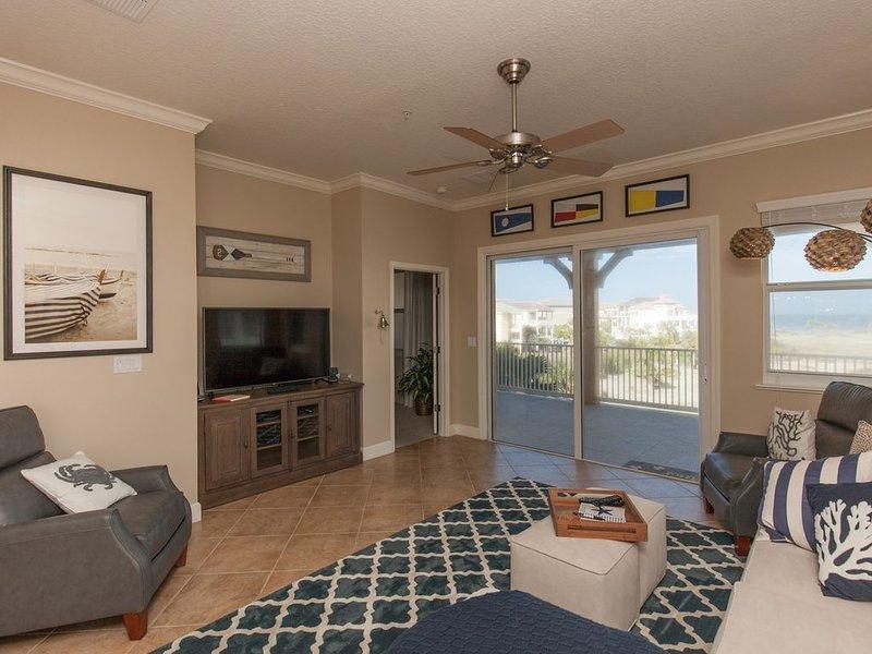 Amazing 4th floor Signature Ocean and Golf View corner Unit 145 !!, aluguéis de temporada em Palm Coast