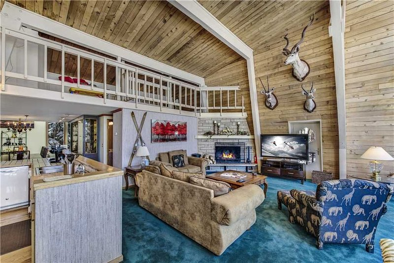 Chic Slopeside Chalet with Private Hot Tub and Sauna, vacation rental in Snowmass Village