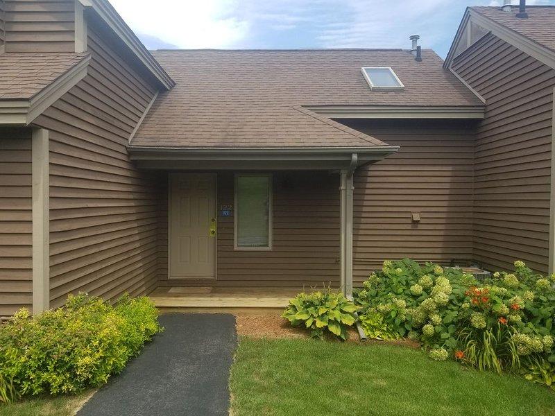 1 Bedroom, 2 bath townhouse in The Galena Territory., holiday rental in Apple River
