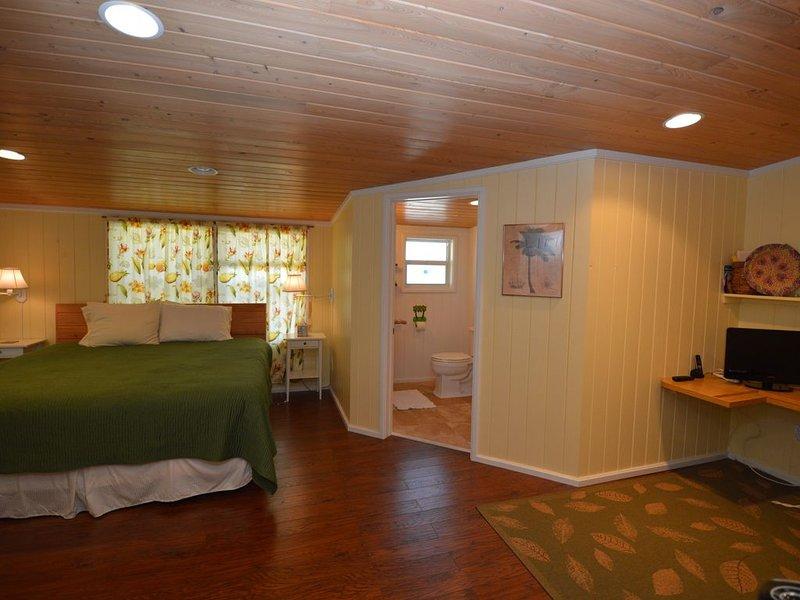 Suite King (avec bureau et salle de bains privative)