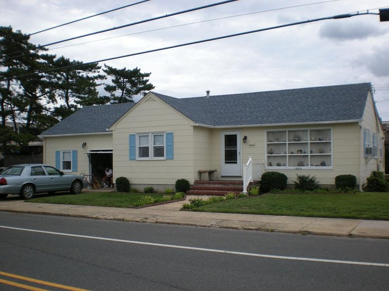 Front of House on Beach Ave