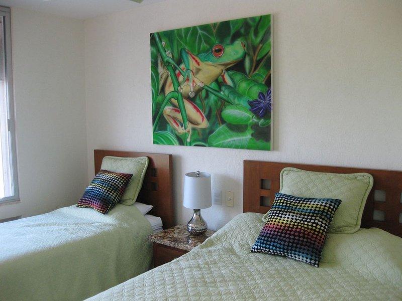 mountain side bedroom