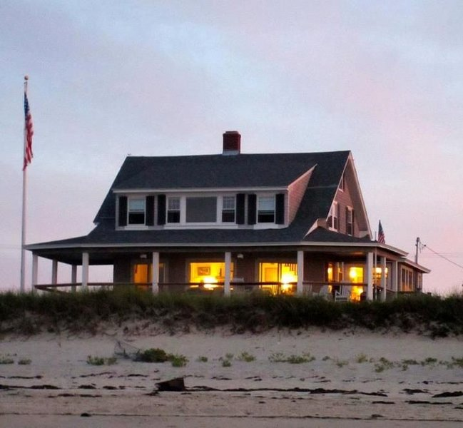 Classic Beach House with wrap around porch.