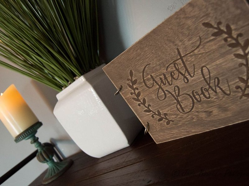 Don't forget to write what you liked most about your stay in our Guest Book!