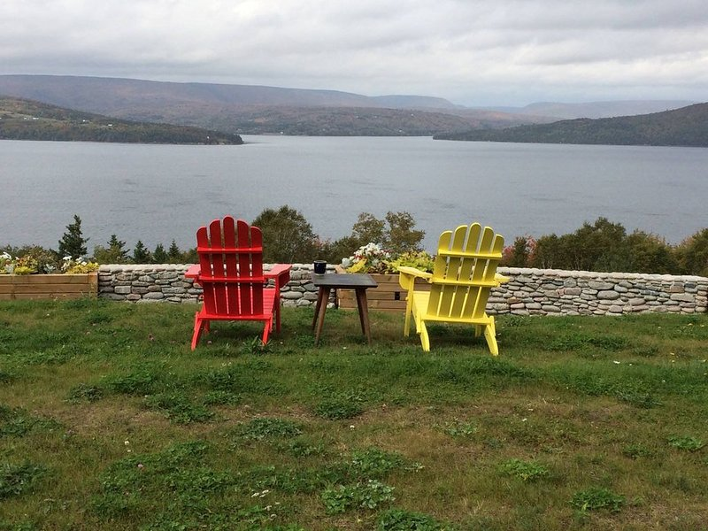 BREATHTAKING VIEW On 49 Private Acres in a fully furnished home, vacation rental in Cape Breton Island