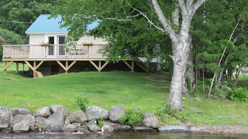 Waterfront Home on Moosehead Lake, vacation rental in West Forks