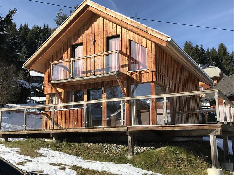 Luxury chalet in the Austrian mountains with stunning views, holiday rental in Stadl-Predlitz
