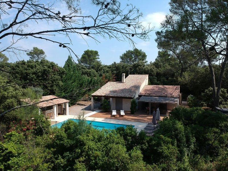 Amazing villa with swimming-pool, holiday rental in Le Thoronet