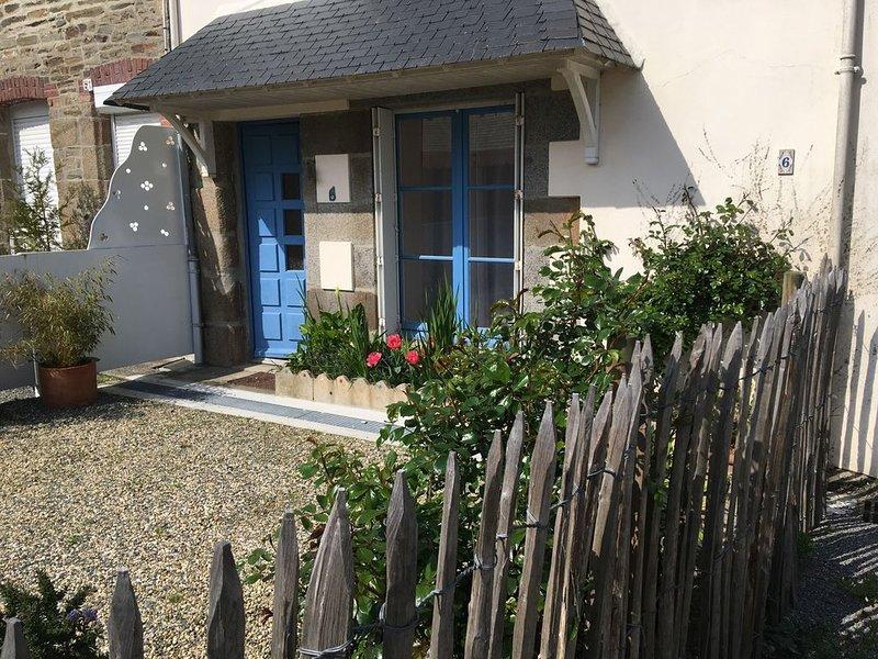 TERBELOC ***Jolie maison Bretonne située en plein cœur de Cancale, casa vacanza a Cancale
