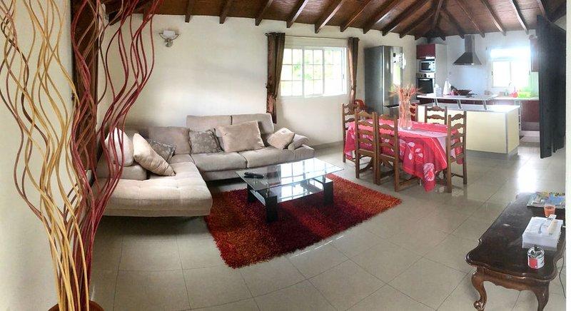 Superbe Haut de villa, location de vacances à Sainte Rose