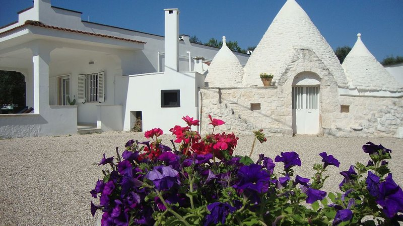 Beautiful Air-conditioned Trulli Villa w/ POOL - Tranquil And Serene, vacation rental in Ostuni
