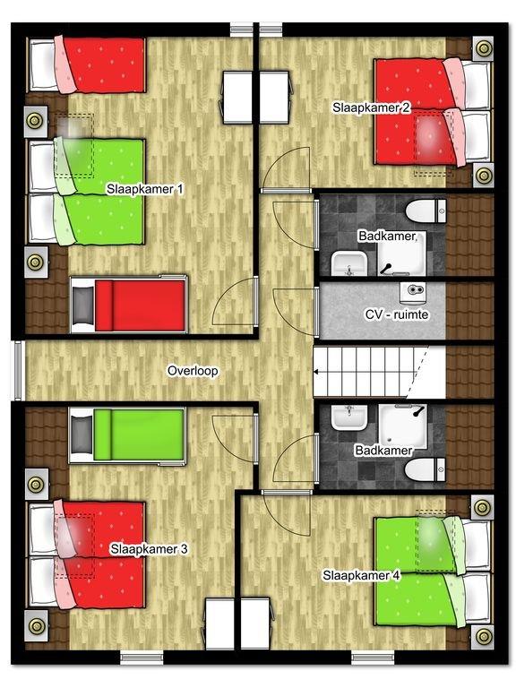 Plan d'étage premier étage