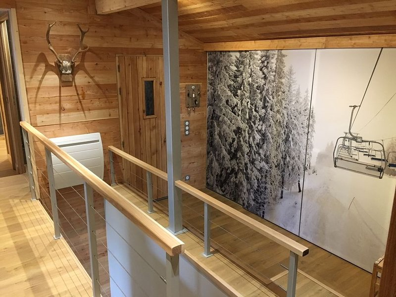 Grand Chalet de standing face aux pistes, holiday rental in Ustou