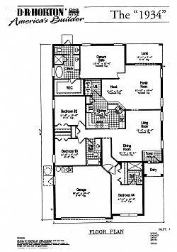 Plano de la villa