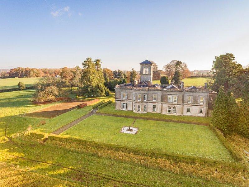 Spectacular historic mansion overlooking Lough Derg, vacation rental in Ballinasloe