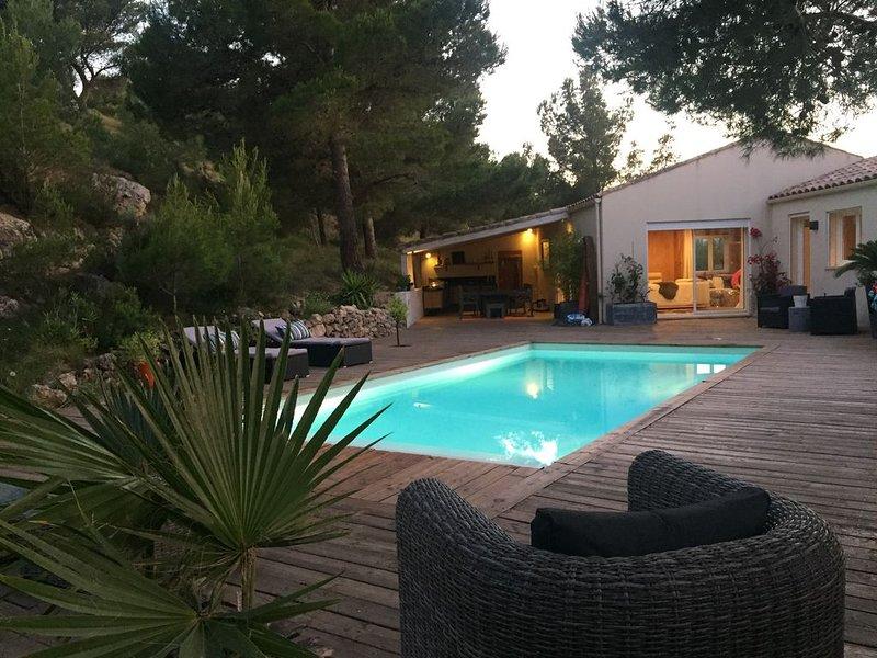 SUPERBE VILLA TOUT CONFORT AU COEUR DE LEUCATE - LA FRANQUI., holiday rental in Treilles