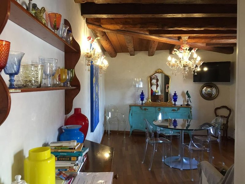 The best location with fantastic canal views, holiday rental in San Nicolo
