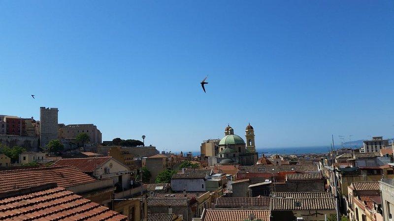 Ancient views of Cagliari--- Antichi  panorami di Cagliari -, aluguéis de temporada em Cagliari