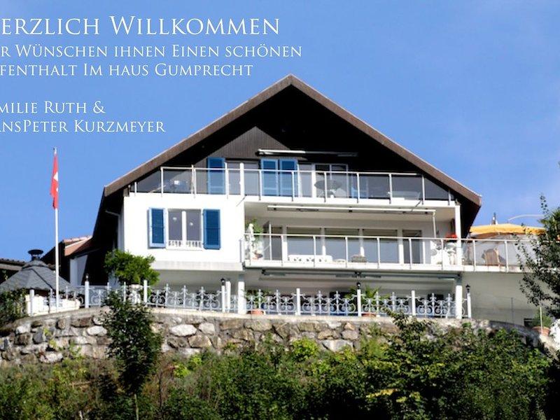 schöne Ferienwohnung mit traumhafter Seesicht, vacation rental in Gersau