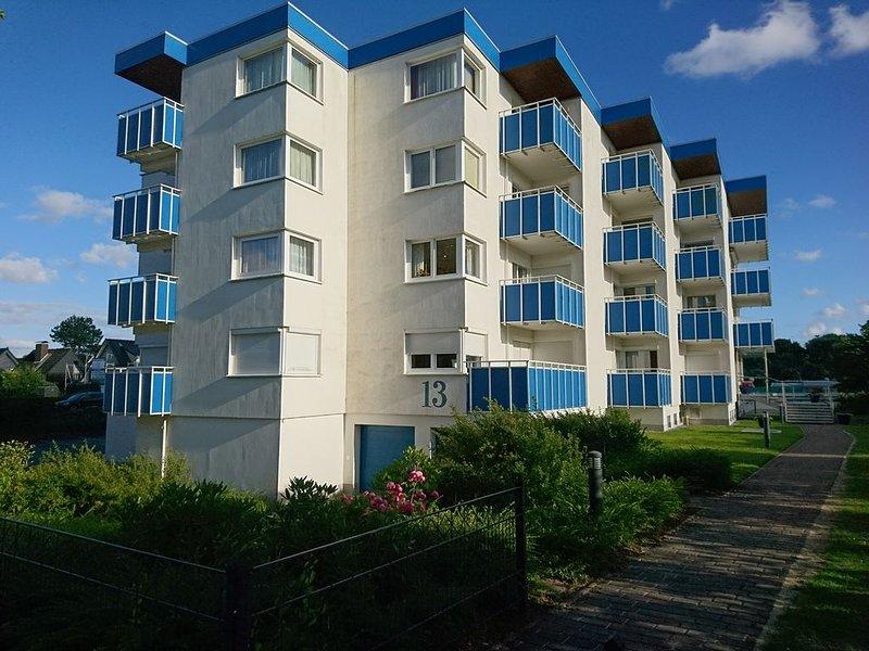 FeWo in Cuxhaven, familienfreundlich, Strandnah, kostl.WLAN, Ruhig, bis 4 Pers. – semesterbostad i Cuxhaven