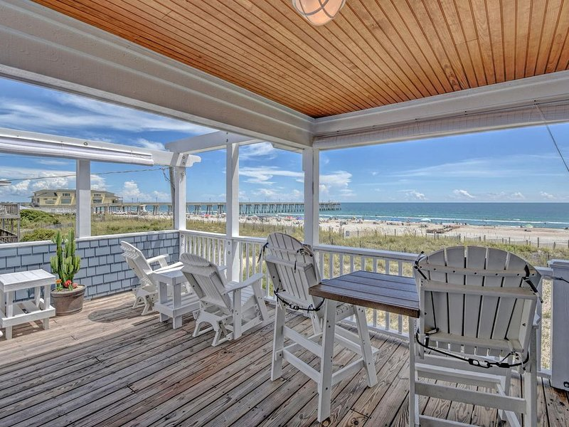 OCEANFRONT HAVEN: Sweeping Oceanfront Views, Breathtaking Sunrises!!, vacation rental in Wrightsville Beach