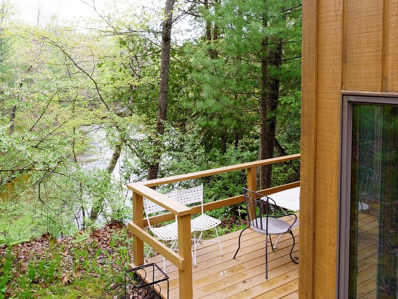 Perfect spot to Fish, Canoe, and Kayak along the Pere Marquette River, holiday rental in Irons