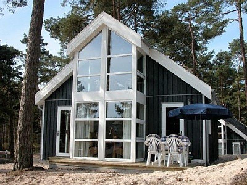 auf einer Düne gebautes Ferienhaus, holiday rental in Ostseebad Baabe