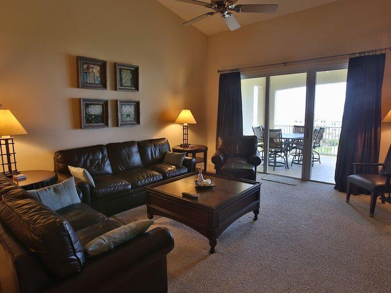 Cinnamon Beach Unit 162-Top floor Penthouse with Stunning Golf & Ocean Views!, holiday rental in Palm Coast
