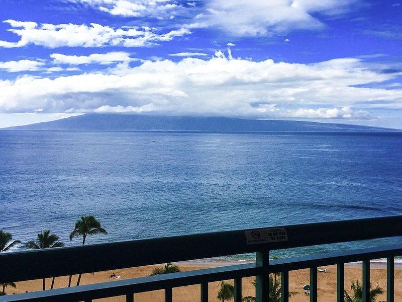 Maui Resort Rentals: Marriott's Maui Ocean Club 1BR Oceanfront Suite, holiday rental in Lanai